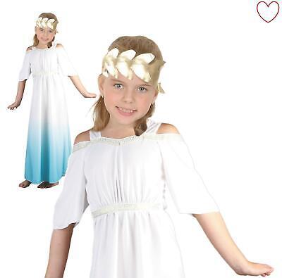 Girls Toga Roman Goddess Fancy Dress Greek Book Week Outfit - Toga Goddess