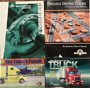 Truck driving training books