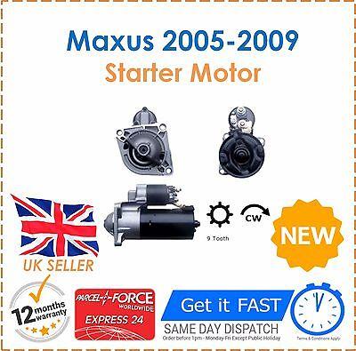 For LDV Maxus 2005 2009 All Models Starter Motor Good Quality Item Fast Dispatch