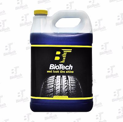 Wet Look Tire Shine / Silicone Tire Shine / Liquid Tire Shine 128 oz (1 Unit)