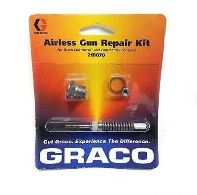 New Graco Contractor Contractor Ftx Spray Gun Needle Kit 218070