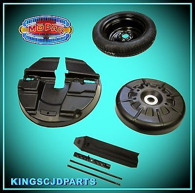 Spare Tire Wheel Emergency Kit 2014 - 2017 Grand Caravan Town & Country OEM