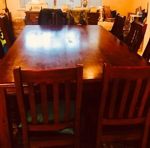 10 Seater Family Dining Table