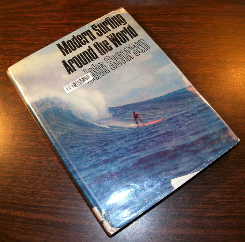 Modern Surfing Around the World by John Severson HB FE 1964 X-Lib Free Shipping