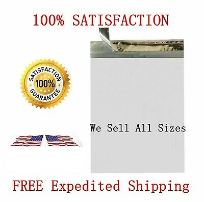 Poly Mailers Plastic Envelopes Shipping Bags White Premium 6x9 9x12 10x13 24x24