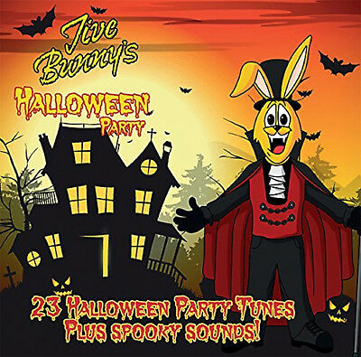 Halloween Songs Childrens (Jive Bunny's Halloween Party - CD - BRAND NEW SONGS CHILDRENS KIDS)