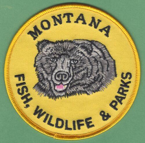 MONTANA STATE FISH WILDLIFE & PARKS PATCH