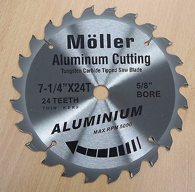7-14 X 24t Aluminum Cutting Circular Saw Tct Blade