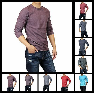 New Hollister by Abercrombie Men Hobson NorthSide Long Sleeve T-Shirts Sizes