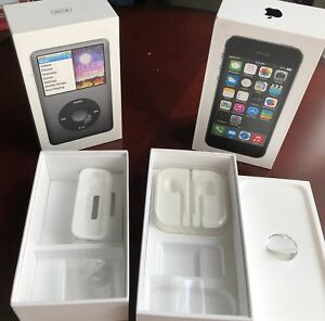 iPhone 5s & iPod Classic 160GB Packaging Boxes