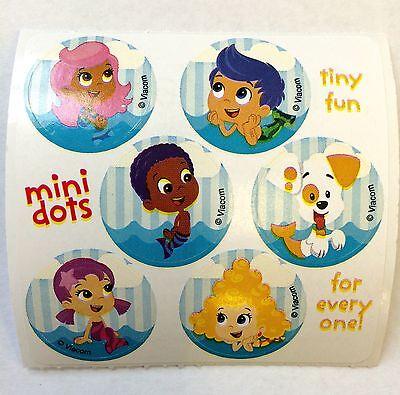 60 Bubble Guppies Mini Dot Stickers Party Favor Teacher Supply](Bubble Guppies Stickers)