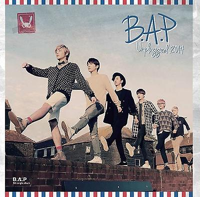 B.A.P (BAP) 4th Single Album [Unplugged 2014] CD + Photocard Sealed Music CD