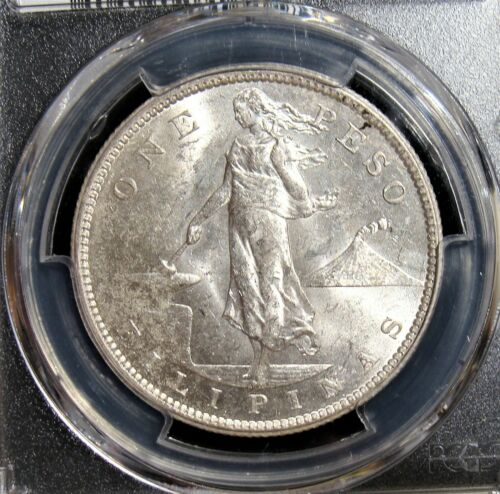 Philippines: USA Administration Peso 1907-S MS63 PCGS.