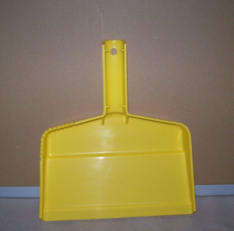Restaurant Equipment Bar Supplies CARLISLE PLASTIC DUST PAN YELLOW 361438RWS03