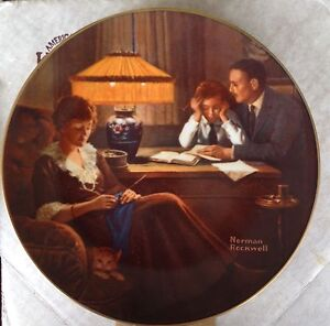 Bradford Exchange Norman Rockwell Collector Plates Strathcona County Edmonton Area image 8
