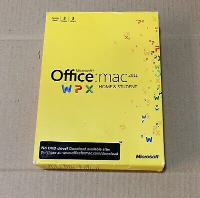 Microsoft Office for Mac 2011 Home and Student DVD Full (Office For Mac 2011 Home And Student Edition)
