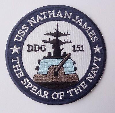 The Last Ship USS Nathan James - Patch Aufnäher - Kostüm Aufnäher zum Aufbügeln