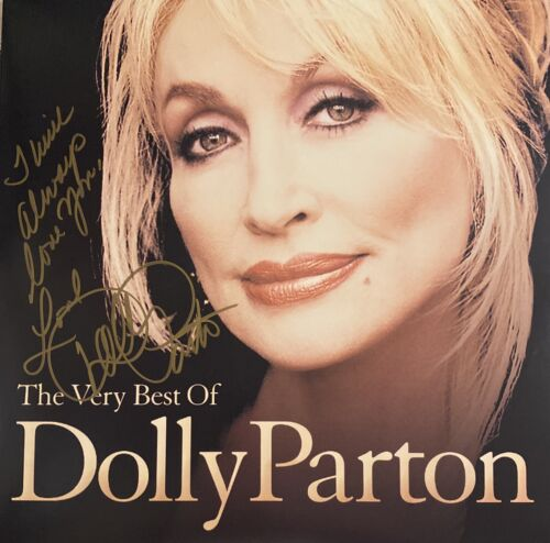 Dolly Parton Signed Autographed Double Lp The Very Best Of Dolly - $249.99