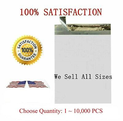 Poly Mailers Poly Bags 7.5x10.5 25 50 100 200 300 500 1000 5000 10000 Usa