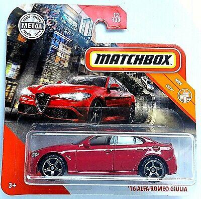 Alfa Romeo Giulia Sprint GTA - MATCHBOX AUTO CAR NEU OVP