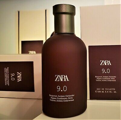 ZARA 9.0 FOR MEN *2020 Edition* EDT 100ml / 3.4oz, BNIB SEALED