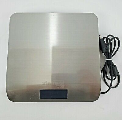 Stamps.com 5 Lb. Digital Postal Scale Stainless Steel - Working