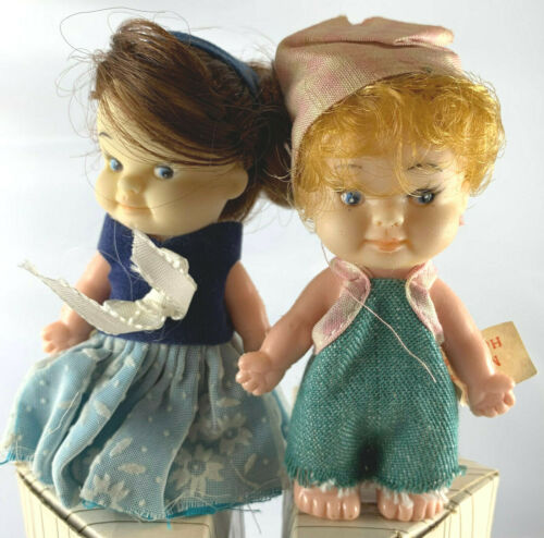 A REAL CUTIE FROM SARCO VINTAGE DOLL PAIR