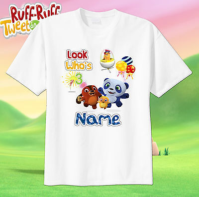 Ruff Ruff Tweet And Dave Custom Tshirt Personalize Birthday Add Name Age  Sprout