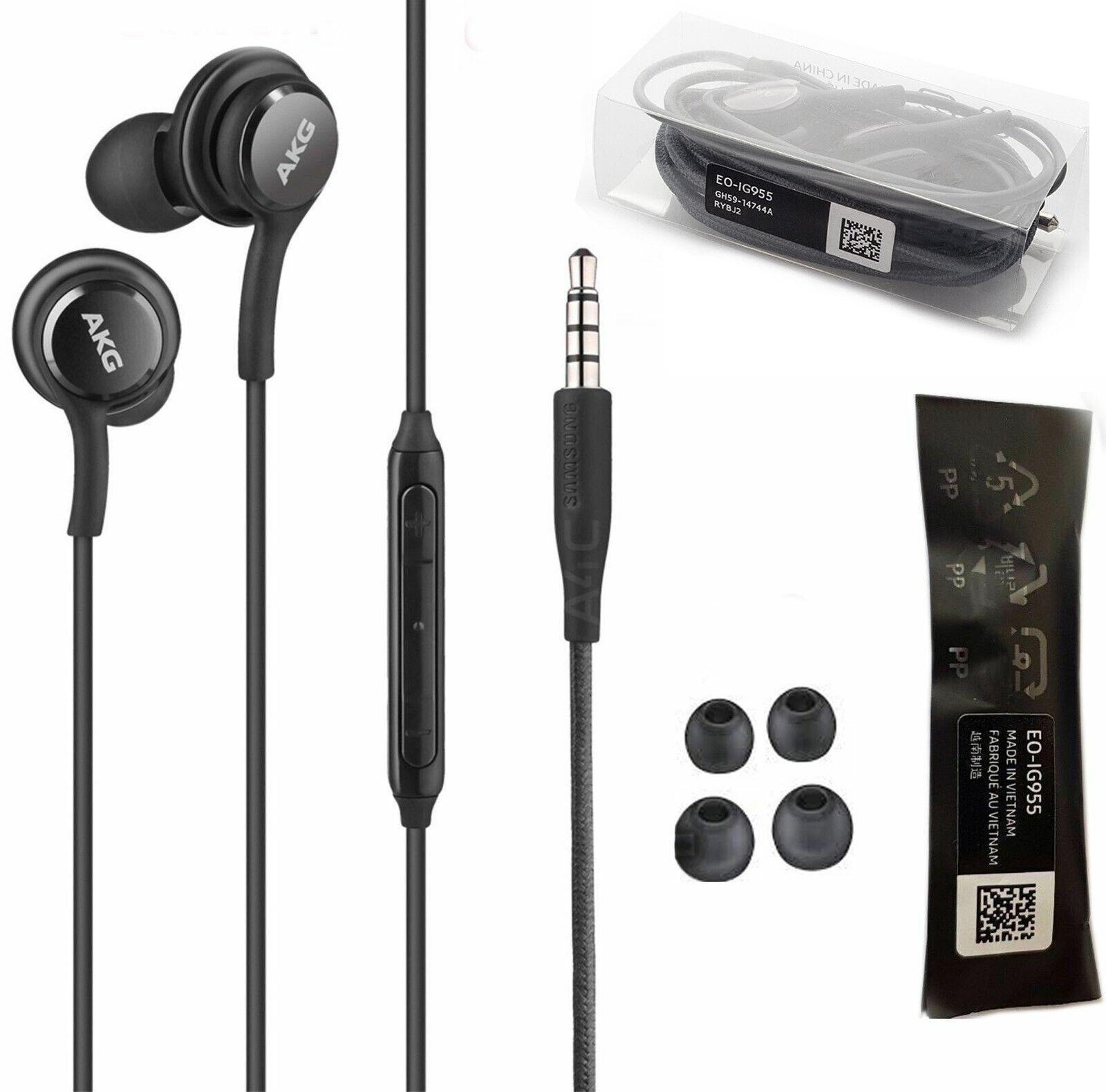 Orginal Genuine Samsung AKG Stereo Headphones Handsfree Earp