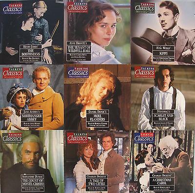 TALKING CLASSICS NOVELS x 36 ~ TITLE NOS 41 THRU 76 ON TWIN CD'S
