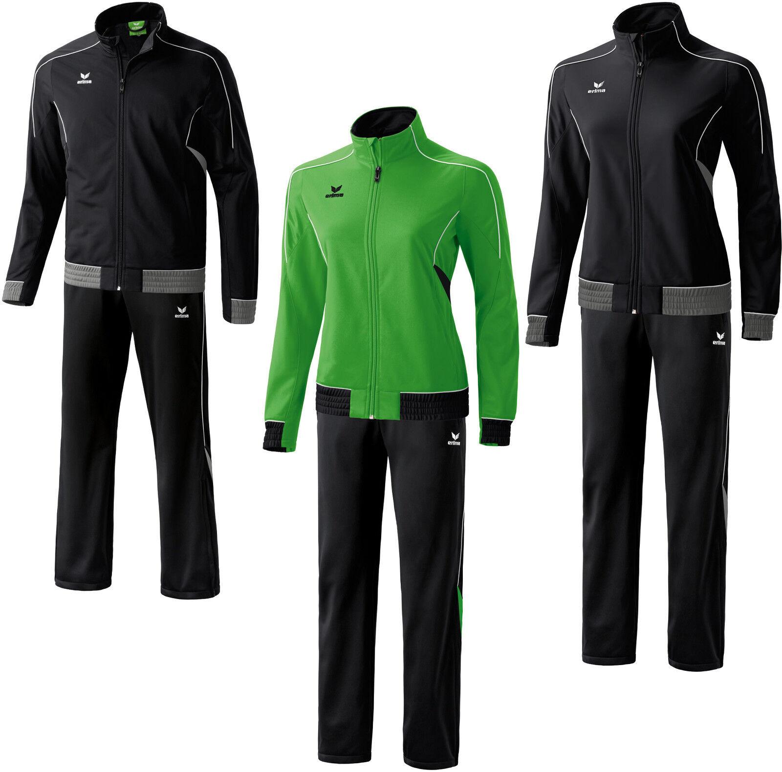 Erima Gold Medal Line Polyesteranzug Trainingsanzug Sportanzug Jogginganzug