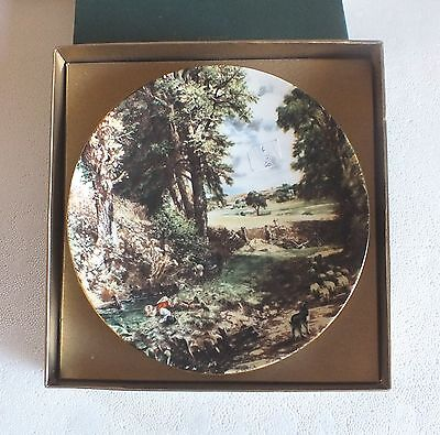 "Crown Staffordshire Collectors plate John Constable "" The Cornfield """