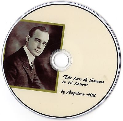 Law Of Success In 16 Lessons Napoleon Hill  1 Top Selling  Self Help Book On Cd