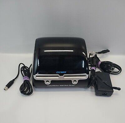 Dymo Labelwriter 450 Twin Turbo Thermal Printer Tested Working Missing 1 Spool