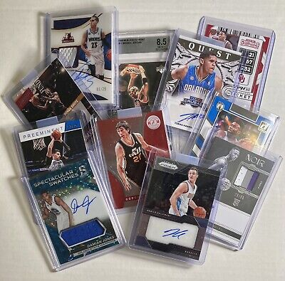 NBA Basketball Hot Packs 10 Cards, Guaranteed Hit, Auto, Patch, Rookie RC, Stars
