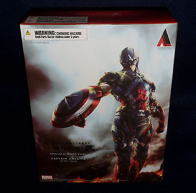 Marvel Universe Variant Play Arts Kai Captain America Action
