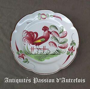B2017454-Assiette-22-cm-decorative-en-faience-decor-coq