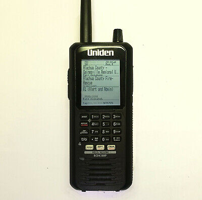 Uniden BCD436HP Scanner with Worn Buttons