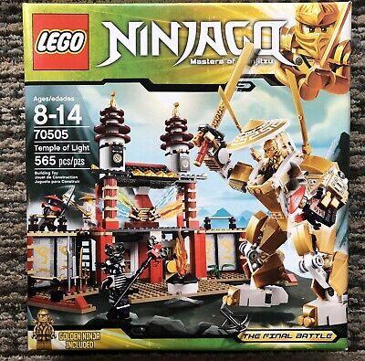 LEGO 70505 NINJAGO Temple of Light. Complete Set Including MiniFigs Manual & Box