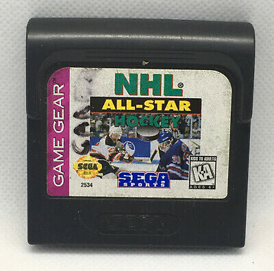 NHL All-Star Hockey - Game Cart Only - Tested & Works - Sega Game Gear