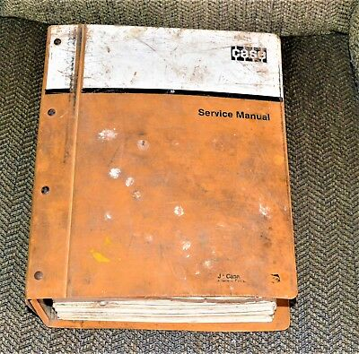 Case Service Manual 580 Construction King Tractor 580c Backhoe