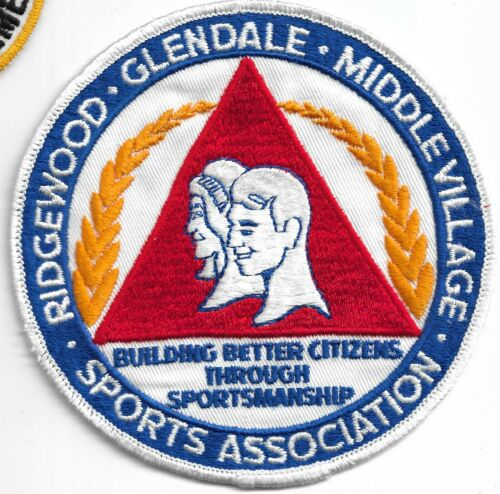 New York City- Queens: Ridgewood, Glendale, Middle Village, Sports Assoc. patch