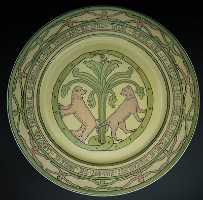Mary Bacon Jones The Jungle Book Folk Design Plate for Guerin Limoges - B