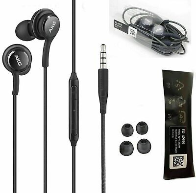 Orginal Samsung Galaxy S10 S9 S8 S8 Plus Note 9 AKG EarBuds Headphones Headsets