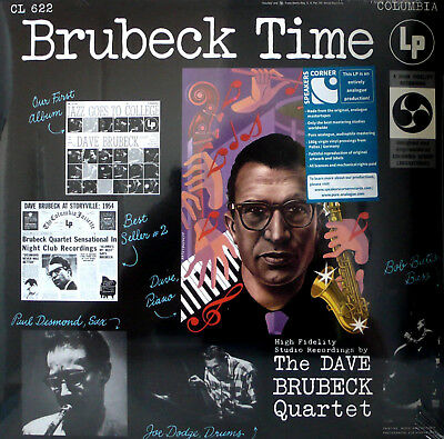 THE DAVE BRUBECK QUARTET BRUBECK TIME CL-622 COLUMBIA SPEAKERS CORNER