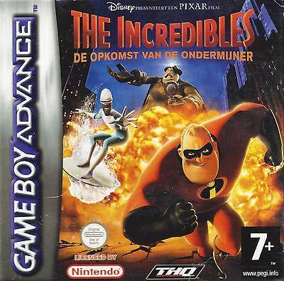 THE INCREDIBLES - DE OPKOMST VAN DE ONDERMIJNER voor Game Boy Advance GBA