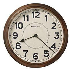 625-654  NEW HOWARD MILLER GALLERY 22 DIAMETER WALL CLOCK - HUNTER  625654