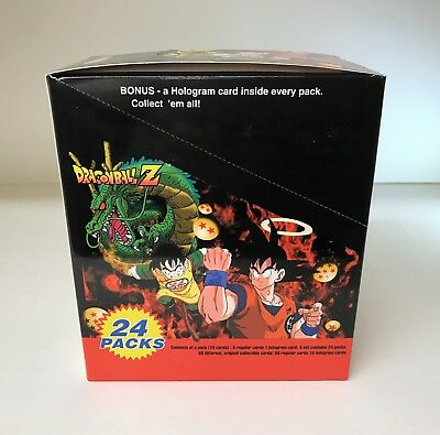 Dragon Ball Z Series 1 - New Trading Card Hobby Box - DBZ, JPP/Amada ArtBox 1996