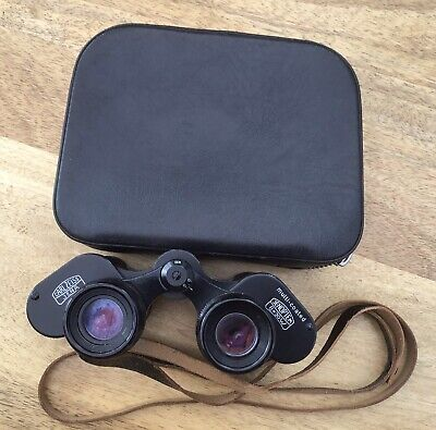 Carl Zeiss Jena Jenoptem 8x30w Multi-Coated Binoculars & Case