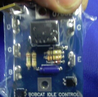 Miller Bobcat 5 Pin Welder Idle Idler Control Pc Board 189742 For Old 123056